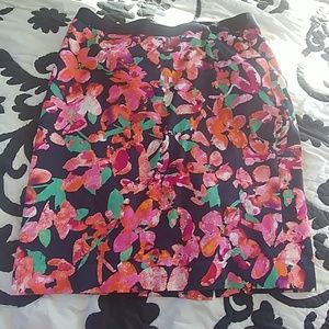 1 Ann Taylor Floral Skirt